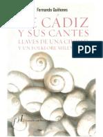 De Cádiz y sus cantes. Fernando Quiñones