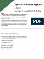 MOT Inspection Manual