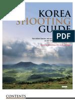 Korea Shooting Guide-English