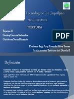 Presentacion Textura