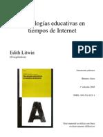 Litwin Edith - Tecnologías educativas en tiempos de internet