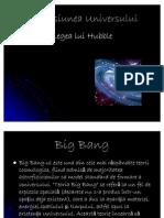 Expansiunea Universului Si Legea Lui Hubble