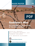 Saddam's War - An Iraqi Military Perspective of the Iran-Iraq War