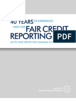 FCRA 40 Years Report (2011)
