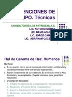 DESARROLLO ORGANIZACIONAL INTERVENCIÓN DE EQUIPO Rol recursos humanos