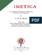 Mead, GRS - Hermetica