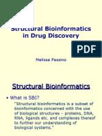 Strctural Bioinfo in Drug Design-passino