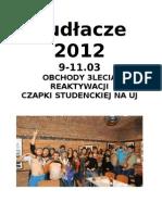 Śpiewnik Kudłacze 2012
