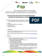 Convocatoria Proyectos Emprendedores Veracruz-Microsoft 20111