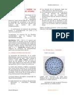 ESTRUCTURA DE LA MATERIA. Modelos atómicos.