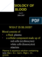 Physiology of Blood Lec1