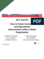GE Workout Kit Presentation