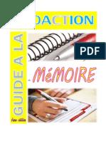 Guide à la rédaction de mémoire définitif
