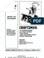 Craftsman II 10.32 Service Manual