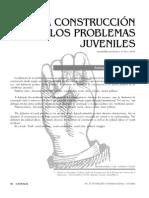 M.criado. La Construccion de Los Problemas Juveniles