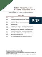 Ceremonia presentación triestamental medicina 2012 VF