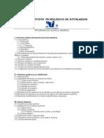 Programa de Química General