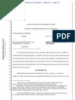 Order--Blackburn v. ABC Legal Services Inc (06!16!2011)