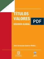Títulos valores. Régimen global