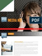 Java Magazine Media Kit