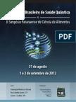 I Congresso Brasileiro de Saúde Quântica & II Simpósio Paranaense de Ciência de Alimentos