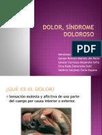 Dolor y Sindrome Doloroso