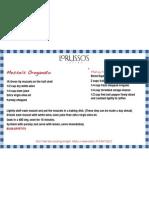 Mussels Oreganato