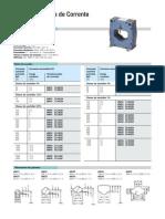 Catálogo de Transformador de Corrente