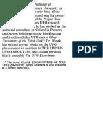 J. Allen Hynek - UFO Report