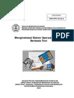 14. Menginstalasi Sistem Operasi Jaringan Berbasis Text
