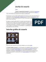 Diseño de interfaz de usuario