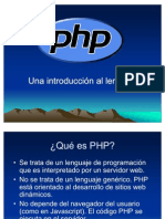 información php