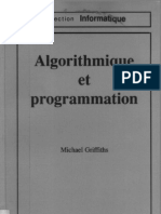 Algorithmique Et Program Mat Ion Michael Griffith