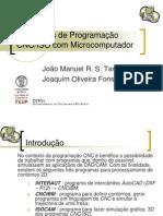 Aplicações de Programação CNC-ISO