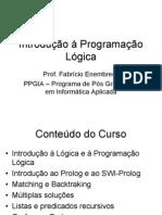 Introdução à Programação Lógica-Aula1