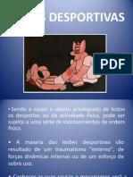 LESÕES DESPORTIVAS - 8º Ano