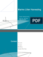 Marine Litter Harvesting _ project