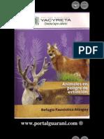 ANIMALES EN PELIGRO DE EXTINCIÓN - Refugio Faunístico Atinguy - Entidad Binacional Yacyretá - Paraguay - PortalGuarani