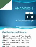 Anamnesis MTHT