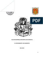 Plan de Desarrollo Municipal Huamantla