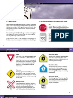 Traffic Signs From Sgi Drivers Handbook 2001