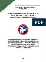 1.- Formato Para Presentacion Proyecto de Tesis Ites Riobamba