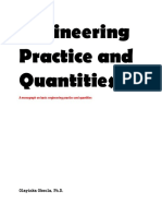 Engineering Practice and Quantities