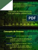 Exposición Procesos - Sistemas Operatívos