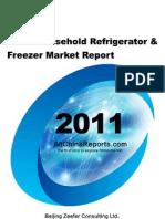 China Household Refrigerator Freezer Market Report