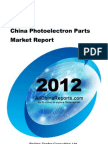 China Photo Electron Parts Market Report