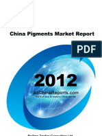 China Pigments Market Report