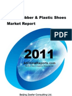 China Rubber Plastic Shoes Market Report