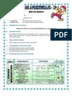 UNIDAD DE APRENDIZAJE - MARZO - 1º A 5º -