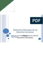 Defensoría Municipal de los Derechos Humanos